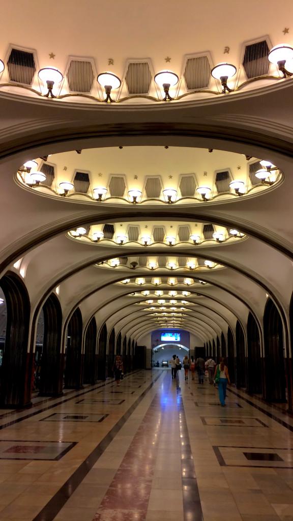 Mayakovsksya Station